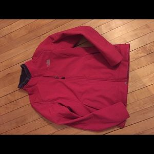 NWOT Northface fleece lined zip up. Size small.